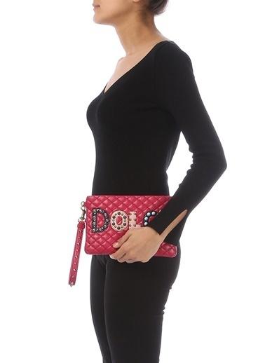 Dolce&Gabbana Clutch / El Çantası Fuşya